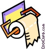 rolls of toilet paper Vector Clipart picture