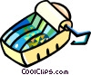 Vector Clipart graphic  of a can of sardines