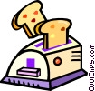toasters Vector Clip Art graphic