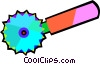 Vector Clipart image  of a pastry cutter