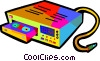 VCR Vector Clipart illustration