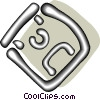 computer disks Vector Clipart picture