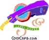 label makers Vector Clipart illustration