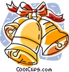 Vector Clip Art image  of a Christmas bells