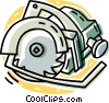 power saw Vector Clipart picture