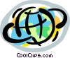 planet earth Vector Clipart picture