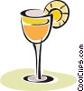Vector Clipart picture  of a exotic drink