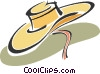 Vector Clipart picture  of a hat