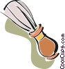 shaving brush Vector Clipart illustration