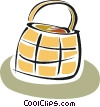 picnic basket Vector Clip Art picture