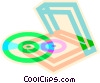 CD's Vector Clip Art picture