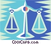 scales Vector Clip Art picture