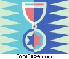 Vector Clipart illustration  of a medal of honor