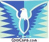 American eagle Vector Clip Art graphic