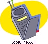 Vector Clip Art graphic  of a cell phones