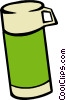 Vector Clipart image  of a thermos