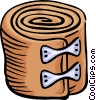 Vector Clipart graphic  of a tensor bandage