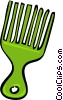 hair combs Vector Clipart illustration