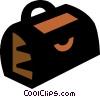 Vector Clip Art graphic  of a doctors bag