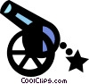 cannon Vector Clipart graphic