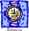 Vector Clipart graphic  of a wristwatches