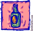 bottle of beer/pop Vector Clipart picture