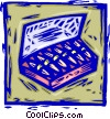 box of cigars Vector Clipart picture