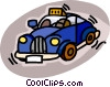 taxicab Vector Clip Art picture