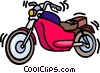 motorcycles Vector Clipart illustration