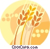 Vector Clip Art graphic  of a wheat