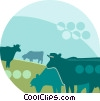 cattle Vector Clip Art graphic