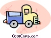 delivery trucks Vector Clip Art picture