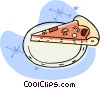piece of pizza Vector Clip Art image