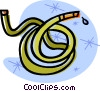 garden hose Vector Clipart illustration
