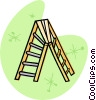 Vector Clipart graphic  of a step ladder
