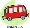toy bus Vector Clip Art picture