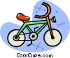 Vector Clip Art picture  of a bicycle