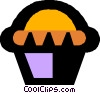 Vector Clipart graphic  of a cupcakes