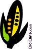 Vector Clipart picture  of a corn cob