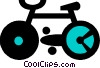 bicycle Vector Clipart graphic