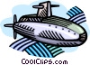 submarine Vector Clipart image
