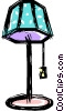 floor lamp for sale Vector Clipart picture