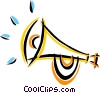 Vector Clip Art picture  of a bugle