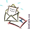 Vector Clipart illustration  of a letters/envelopes