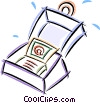 notebook computer Vector Clip Art picture