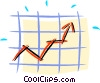 success in the markets Vector Clipart image