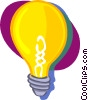 Vector Clipart illustration  of a light bulbs