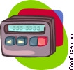 beeper Vector Clipart picture