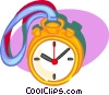 Vector Clipart picture  of a stop watch