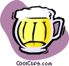 Vector Clipart picture  of a mug of beer